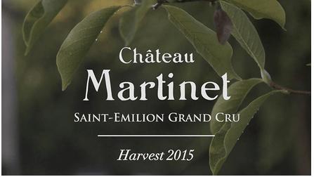 Château Martinet, vendanges 2015